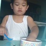 my little fuzzy eater