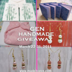a handmade giveaway by gen