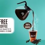 freebie alert: free coffee from mccafè