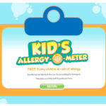 calculate your child's risk at allergy