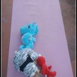 my pink yoga mat