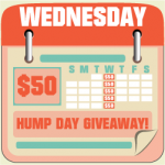 hump day $50 giveaway {email/rss subscription}