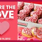 yummy valentine treats from krispy kreme