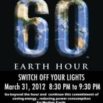 are you all geared up for earth hour?