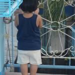 my curious little boy