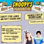 Would You Like to Win Tickets To Snoopy's Holiday Street Fair?