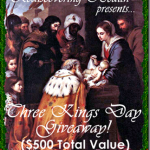 Three Kings Day Giveaway FREE Event Sign-up