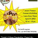 Where-to-Weekend: Junior Preneur 2013, Tiendesitas