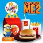 Get A Despicable Me 2 Toy For Every McDonald's Happy Meal