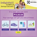 Here's A Delightful-E Simple Way To Win An Electrolux Washing Machine!