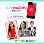 Join The Robinsons Malls' APPMazing Party!