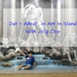 Out + About In Art In Island With Jolly Cow