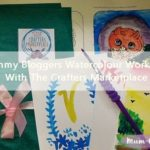 Mommy Bloggers Watercolour Workshop With The Crafters Marketplace