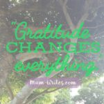 Thankful Thursday: Gratitude Changes Everything