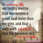 Thankful Thursday: Of Gratitude + Ordinary Life