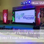 ITAW: International Thyroid Awareness Week 2017