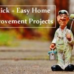 4 Quick + Easy Home Improvement Projects