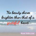 Thankful Thursday: Of Gratitude + Beauty