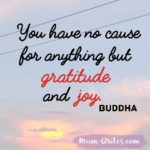 Thankful Thursday: Of Gratitude + Joy