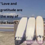 Thankful Thursday: Of Love + Gratitude