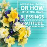 Thankful Thursday: Of Blessings + Gratitude