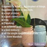 Thankful Thursday: Of Gratitude + The Simple Magnificence Of Life