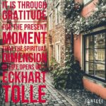 Thankful Thursday: Of Gratitude + The Present Moment