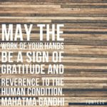 Thankful Thursday: Of Gratitude + Reverence