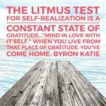Thankful Thursday: Of Gratidude + Self-Realization