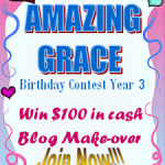 giveaway alert: join amazing grace birthday contest year 3!