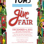 where-to-weekend: toms give fair {04 Dec}