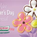 a flowery krispy kreme treat for mums