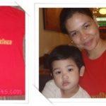 my red mommylicious shirt from samu't sari