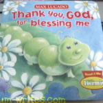 book review: thank you, god, for blessing me by max lucado