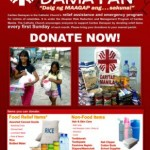 Caritas Manila continues relief efforts for flood victims
