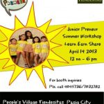 Where-to-Weekend: Junior Preneur 2013, Tiendesitas