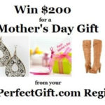 MyPerfectGift $200 Visa Gift Card Mother's Day Event