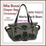 Mia Bossi Diaper Bag Giveaway {worth $400}
