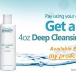 Get A Free Proactiv Deep Cleansing Wash!