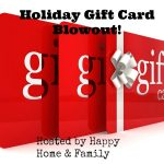 Join The Holiday Gift Card Blowout Giveaway!