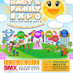 Be Part of The Baby & Family Expo Philippines 2013