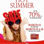 Score Huge Savings At Robinsons Malls Hot Summer Sale!