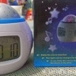 Stars Music 3rd Generation Alarm Clock Projector From Tmart