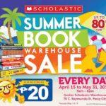 Sale Alert: The Scholastic Summer Book Warehouse Sale