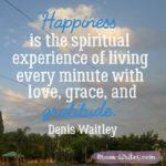 Thankful Thursday: Of Gratitude + Happiness