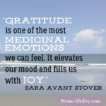 Thankful Thursday: Of Gratitude + Joy