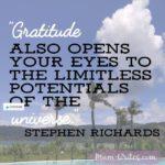 Thankful Thursday: Of Gratitude + The Universe
