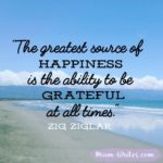 Thankful Thursday: Of Happiness + Gratitude