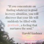 Thankful Thursday: Of Gratitude + Nurturing Your Soul