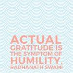 Thankful Thursday: Of Gratitude + Humility
